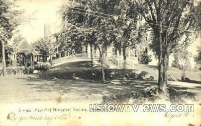 Haverhill Historical Society - Massachusetts MA Postcard