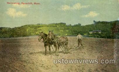 Harrowing - Haverhill, Massachusetts MA Postcard