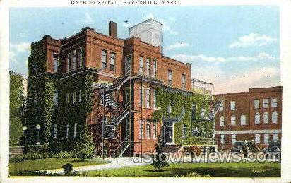 Gale Hospital - Haverhill, Massachusetts MA Postcard