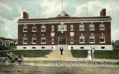 The Armory - Haverhill, Massachusetts MA Postcard