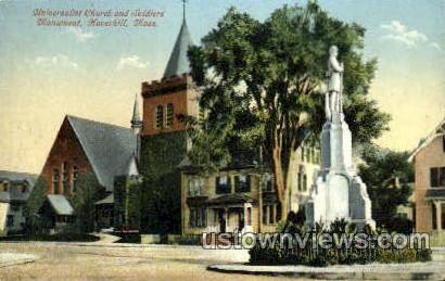 Universalist Church - Haverhill, Massachusetts MA Postcard