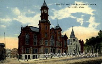First Pentecostal Church - Haverhill, Massachusetts MA Postcard