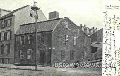 First Post Office - Haverhill, Massachusetts MA Postcard