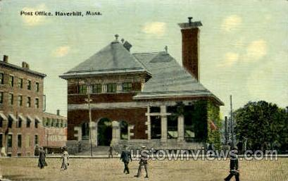 Post Office - Haverhill, Massachusetts MA Postcard