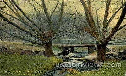Whittier Homestead - Haverhill, Massachusetts MA Postcard