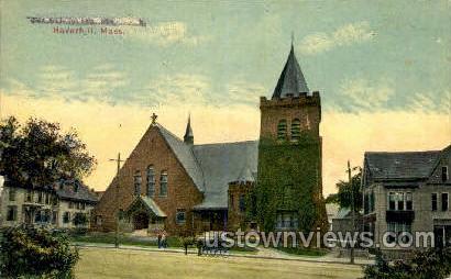 First Universalist Church - Haverhill, Massachusetts MA Postcard