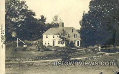 Whittier Birthplace - Haverhill, Massachusetts MA Postcard