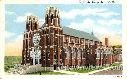 St. Josephs Church - Haverhill, Massachusetts MA Postcard
