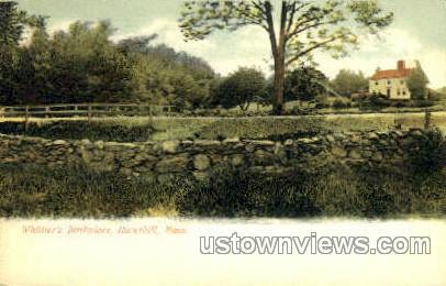 Whittier's Birthplace - Haverhill, Massachusetts MA Postcard