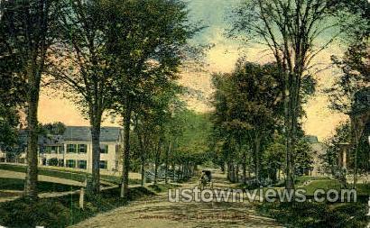 Chadwick St. - Haverhill, Massachusetts MA Postcard