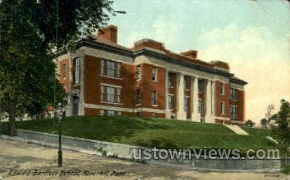 Albert L. Bartlett School - Haverhill, Massachusetts MA Postcard