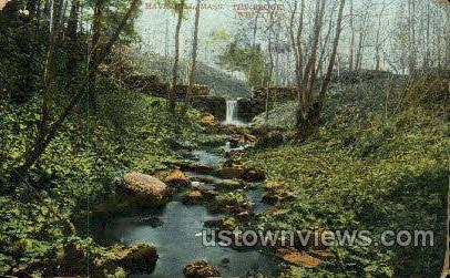 The Brook - Haverhill, Massachusetts MA Postcard