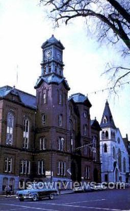 City Hall - Haverhill, Massachusetts MA Postcard