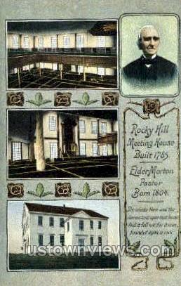 Rocky Hill Meeting House - Haverhill, Massachusetts MA Postcard