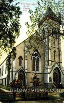 Centre Congregational Church - Haverhill, Massachusetts MA Postcard