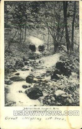 Whittier Brook - Haverhill, Massachusetts MA Postcard