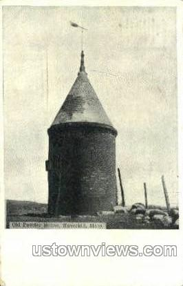 Old Powder House - Haverhill, Massachusetts MA Postcard