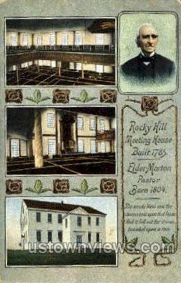Rocky Hill Meeting House - Holyoke, Massachusetts MA Postcard