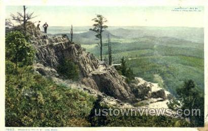 Ragged Cliffs, Mt Tom - Holyoke, Massachusetts MA Postcard