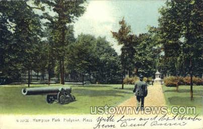 Hampton Park - Holyoke, Massachusetts MA Postcard