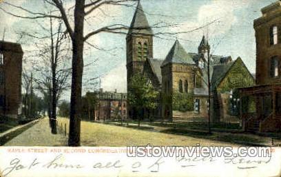 Second Congregational Church - Holyoke, Massachusetts MA Postcard