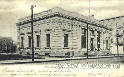 Post Office - Holyoke, Massachusetts MA Postcard