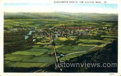 Easthampton - Holyoke, Massachusetts MA Postcard