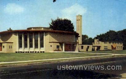 Church of  Blessed Sacraments - Holyoke, Massachusetts MA Postcard