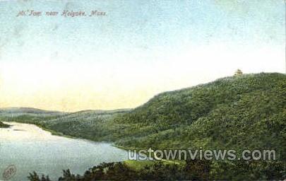 Mt Tom - Holyoke, Massachusetts MA Postcard