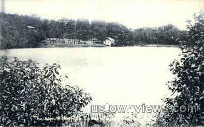 The Lake, Mt Holyoke College - Massachusetts MA Postcard