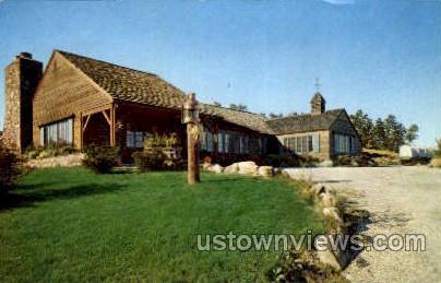 The Log Cabin - Holyoke, Massachusetts MA Postcard