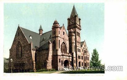 Mt Holyoke College - Massachusetts MA Postcard