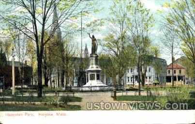 Hampden Park - Holyoke, Massachusetts MA Postcard