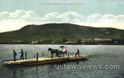 Mt Holyoke Range - Massachusetts MA Postcard