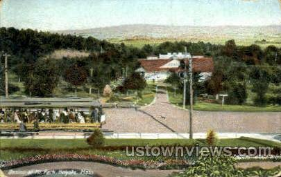 Casino, Mountain Park - Holyoke, Massachusetts MA Postcard