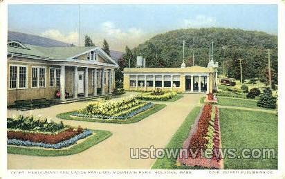 Restaurant & Dance Pavilion - Holyoke, Massachusetts MA Postcard