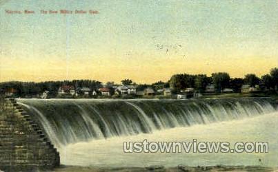 The Million Dollar Dam - Holyoke, Massachusetts MA Postcard