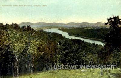 Connecticut River - Holyoke, Massachusetts MA Postcard