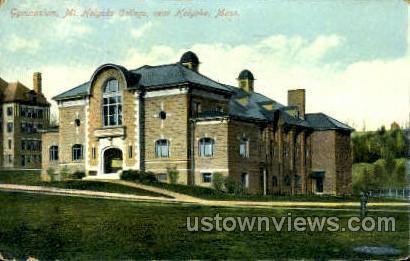 Gymnasium, Mt Holyoke College - Massachusetts MA Postcard