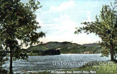 Mt Holyoke - Massachusetts MA Postcard