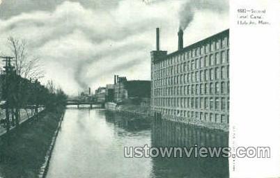 Level Canal - Holyoke, Massachusetts MA Postcard