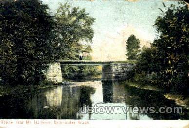Batchelder Brook - Holyoke, Massachusetts MA Postcard