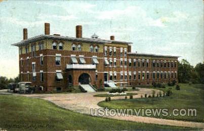 City Hospital - Holyoke, Massachusetts MA Postcard
