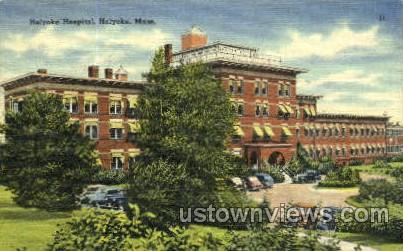 Holyoke Hospital - Massachusetts MA Postcard
