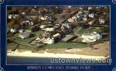 Kennedy Compound  - Hyannis, Massachusetts MA Postcard