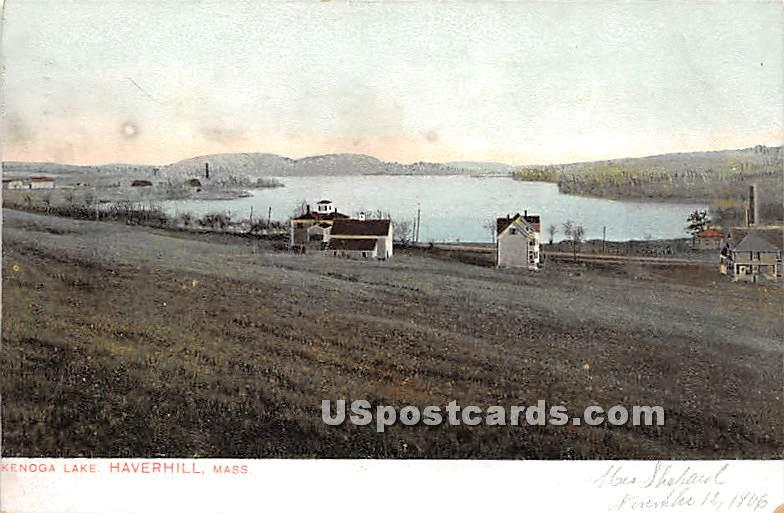 Kenoga Lake - Haverhill, Massachusetts MA Postcard