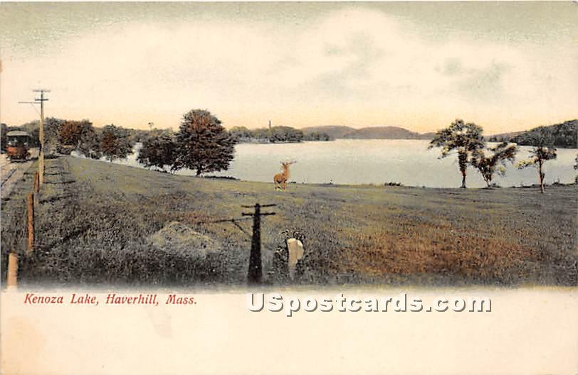Kenoza Lake - Haverhill, Massachusetts MA Postcard