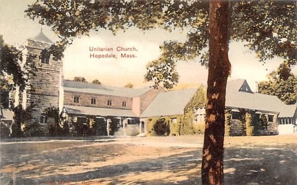 Unitarian Church Hopedale, Massachusetts Postcard