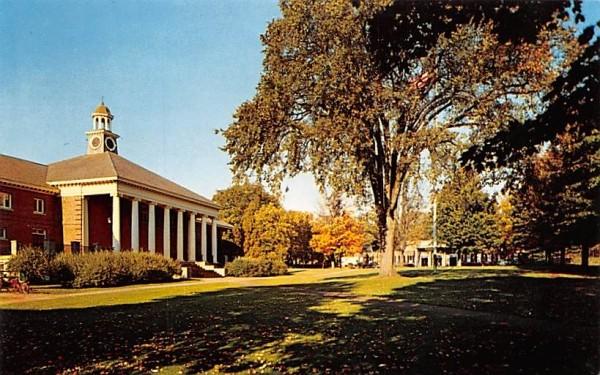 Part of the Hopedale Common Massachusetts Postcard