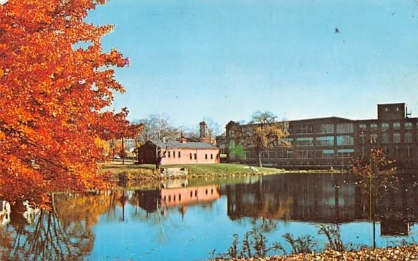 The Little Red Shop Hopedale, Massachusetts Postcard
